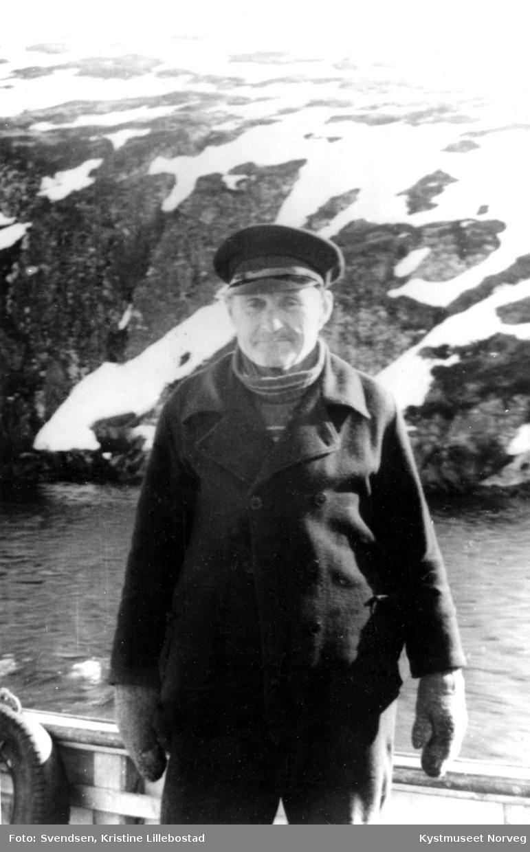 Svein Sveinsen fra Gjerdinga i Nærøy kommune