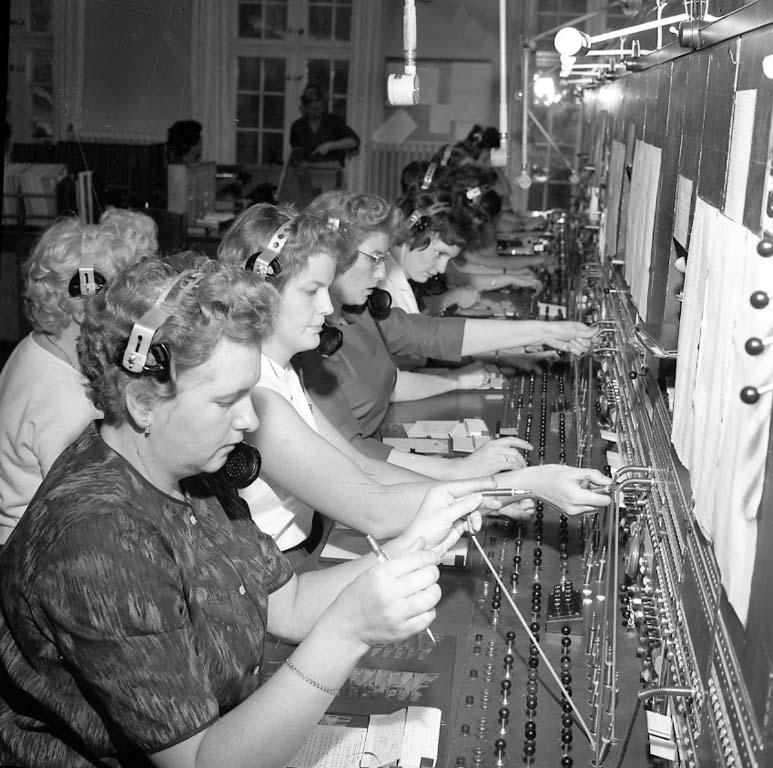 Växeltelefonister