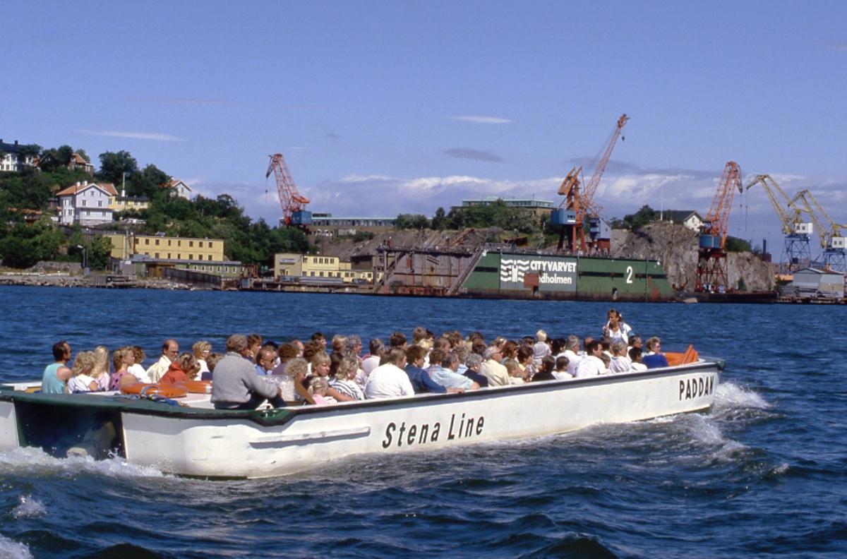 Övrigt: Vilken av de rundtursbåtar som bär namnet PADDAN som ses på bilden är ovisst