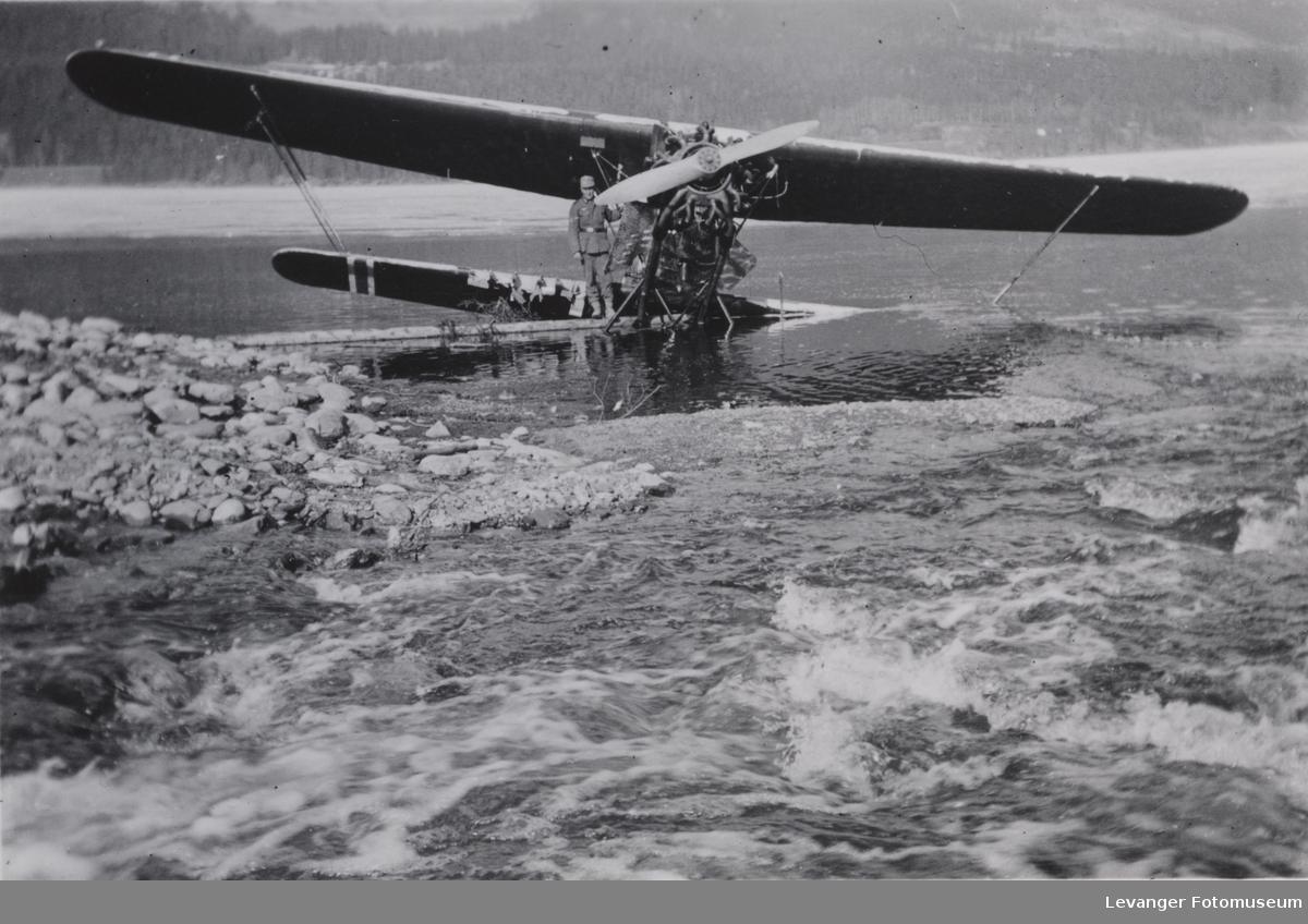 Norsk Fokker 323 antatt ved Lesjaskogsvannet i circa 1940