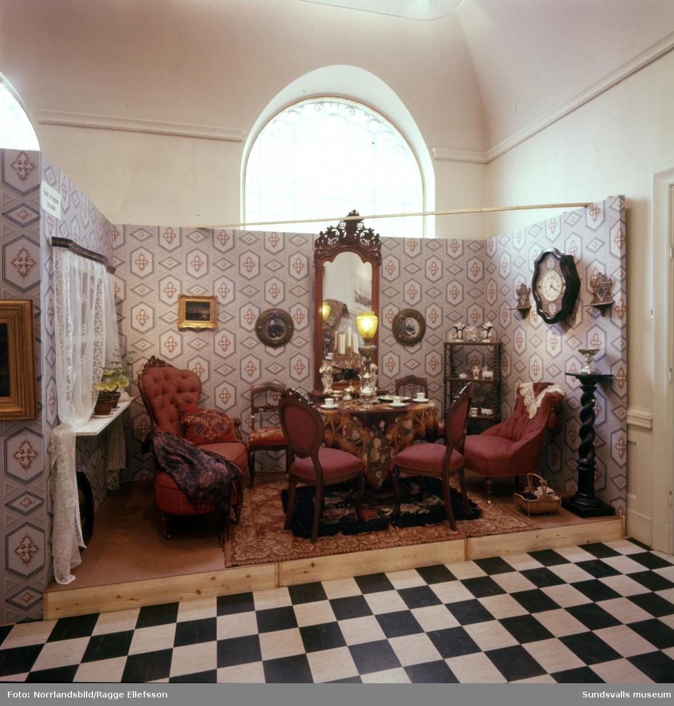 """""""Stan brinner"""", utställning på Sundsvalls museum."""