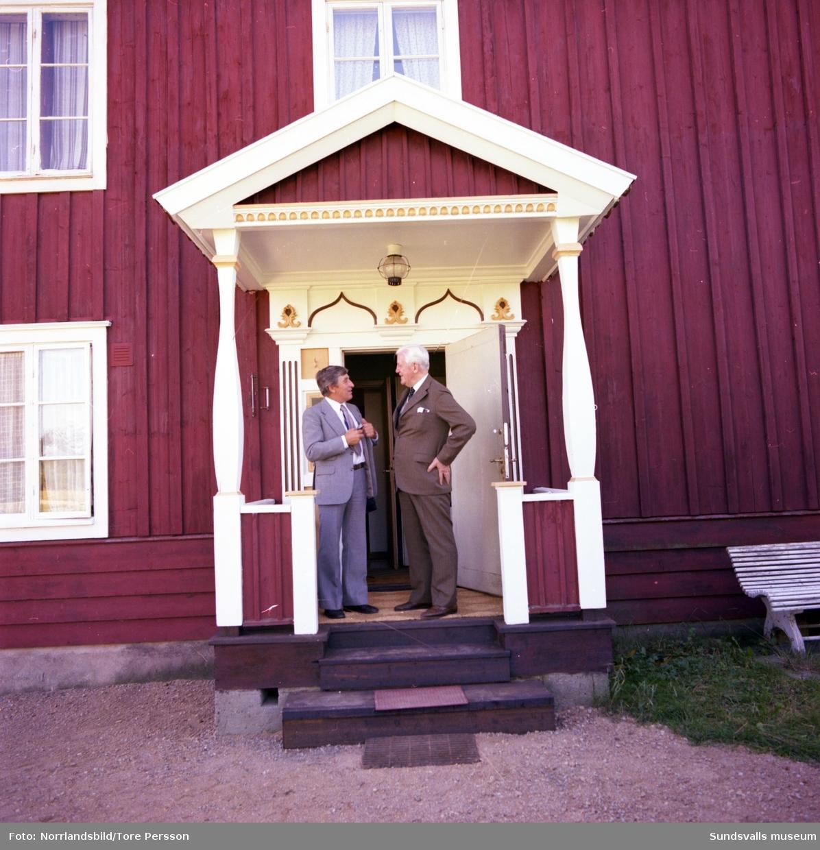 Hedersdoktor Nils August Flodén, 90 år, Lucksta.