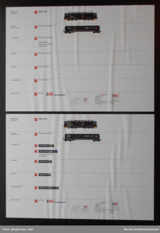 6 plansjer, JM008693A-F
