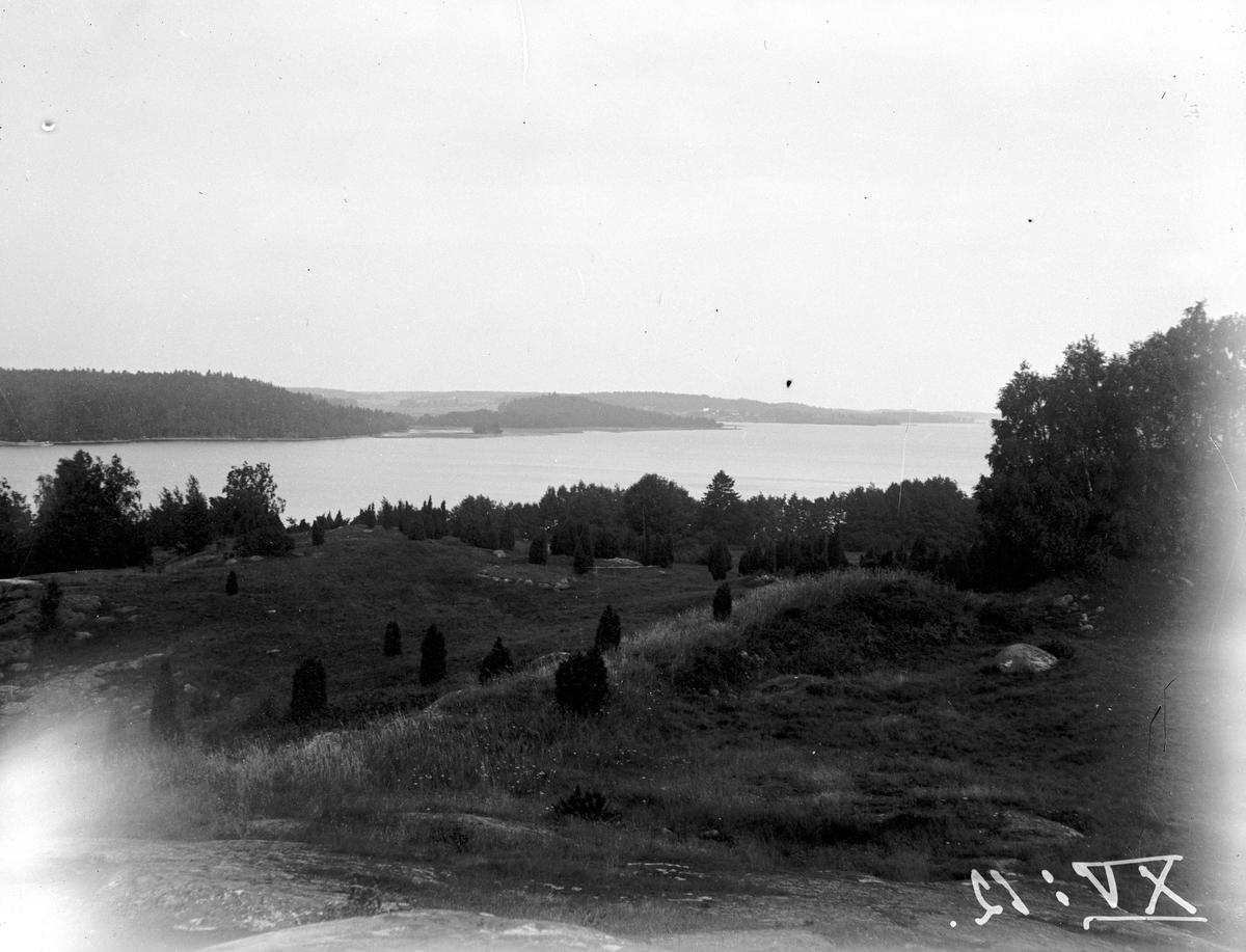 Birka, Björkö år 1931 . Fotograf KJ Österberg.