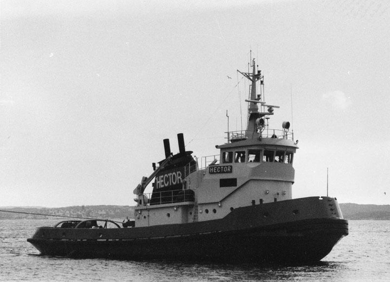 Fartyg: HECTOR                        Bredd över allt 9,54 meterLängd över allt 32,58 meterByggår: 1975Varv: ÅmålÖvrigt: HECTOR=Karl Erik