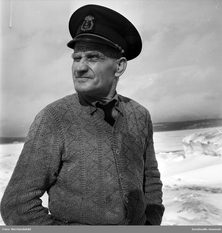Fyrmästare Nils August Hägglund, Draghällan.