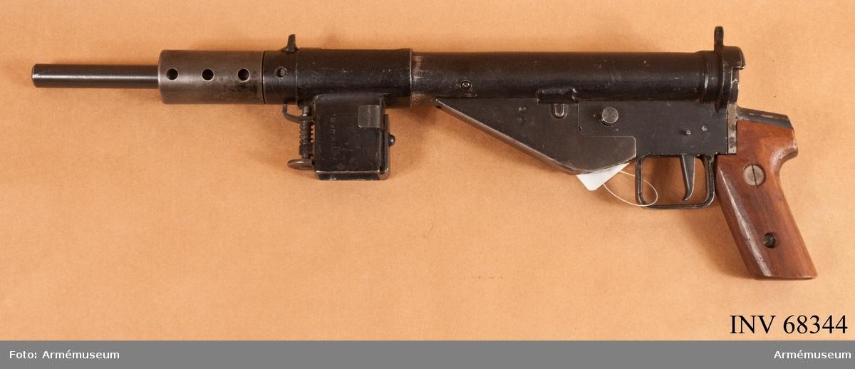 Brittisk-norsk kulspruta 1940.