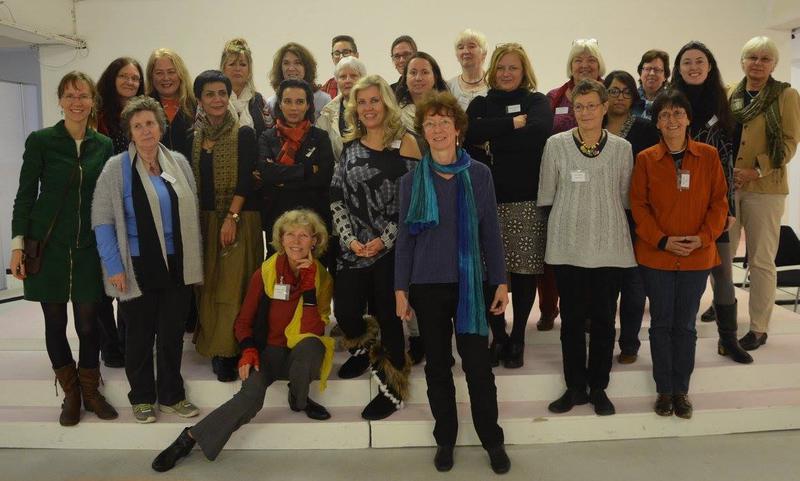 Deltakerne på den europeiske kvinnemuseumskonferansen i Bonn 2014