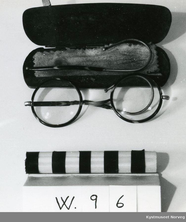 Form: Brillene er runde