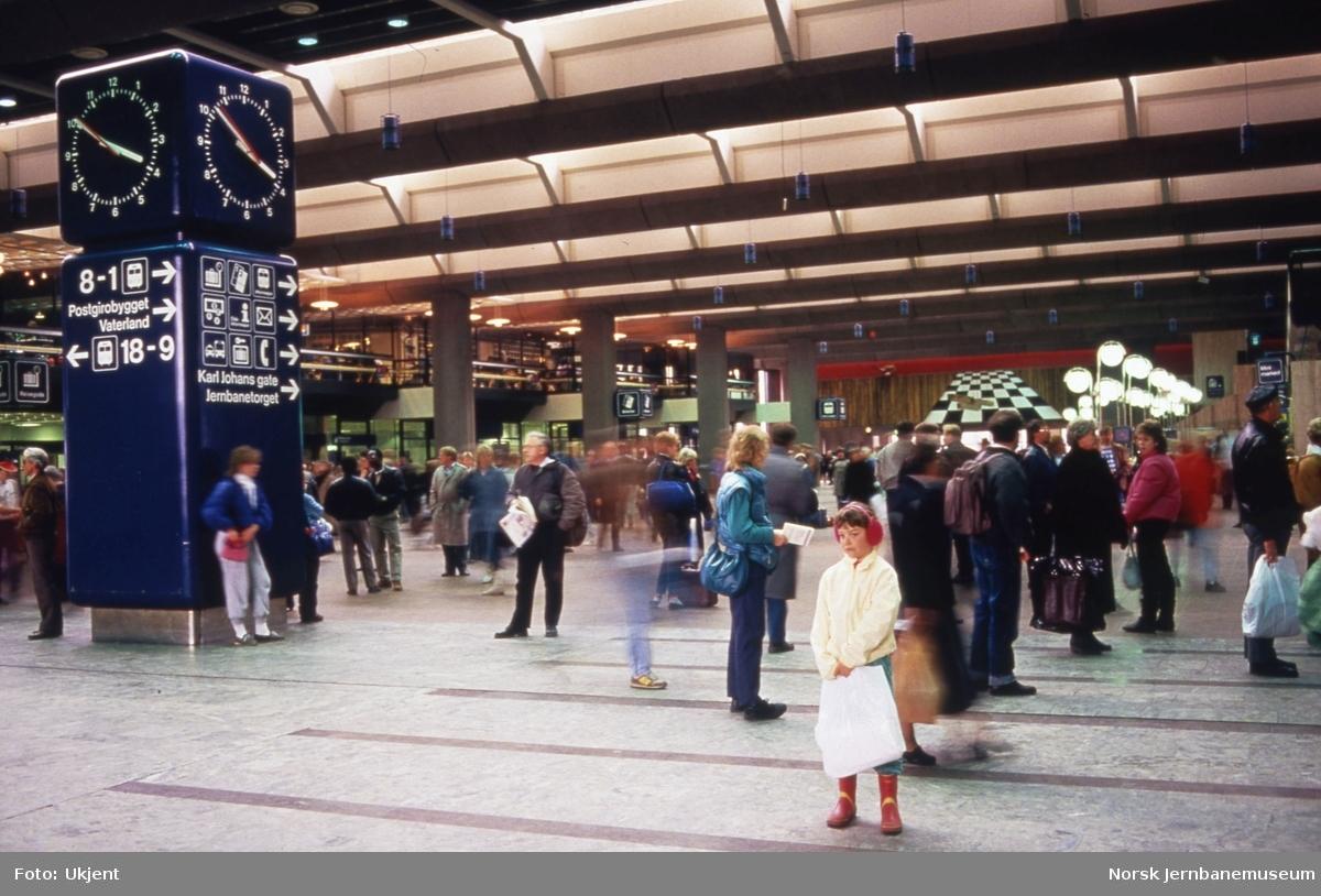 Sentralhallen på Oslo S under OL i 1994