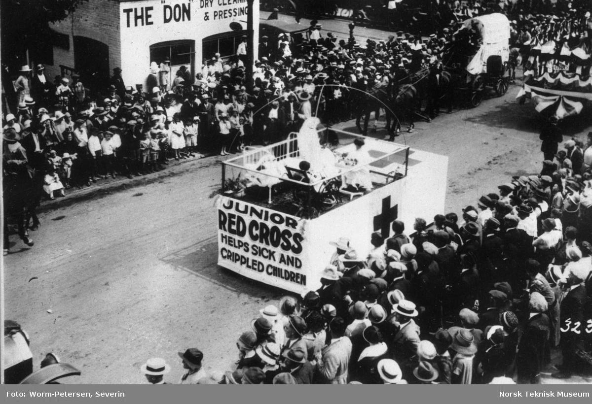 Røde Kors: Parade, Junior Røde Kors