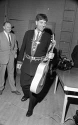 Natt 702, 12 juni 1967Bild på Jokkmokks-Jokke när han står