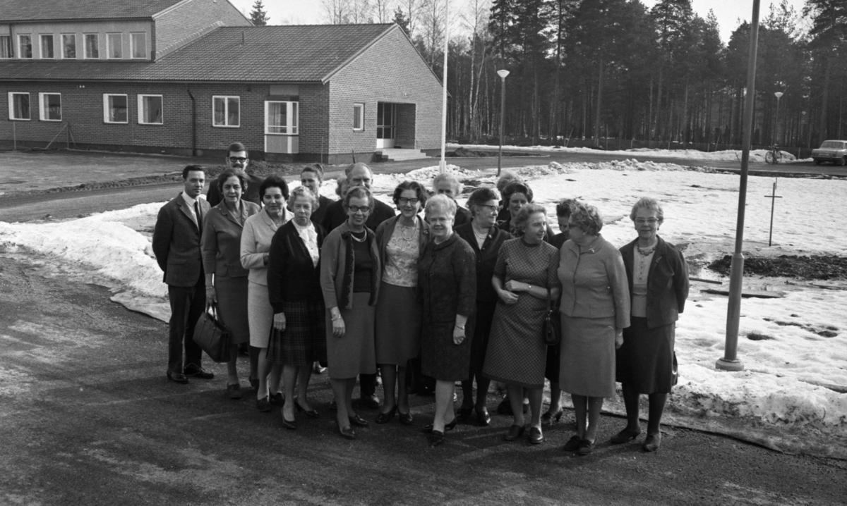 Riksdagskvinnor 10 mars 1967.