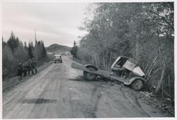 Bilulykke Spillum Namdalsmuseet Digitaltmuseum