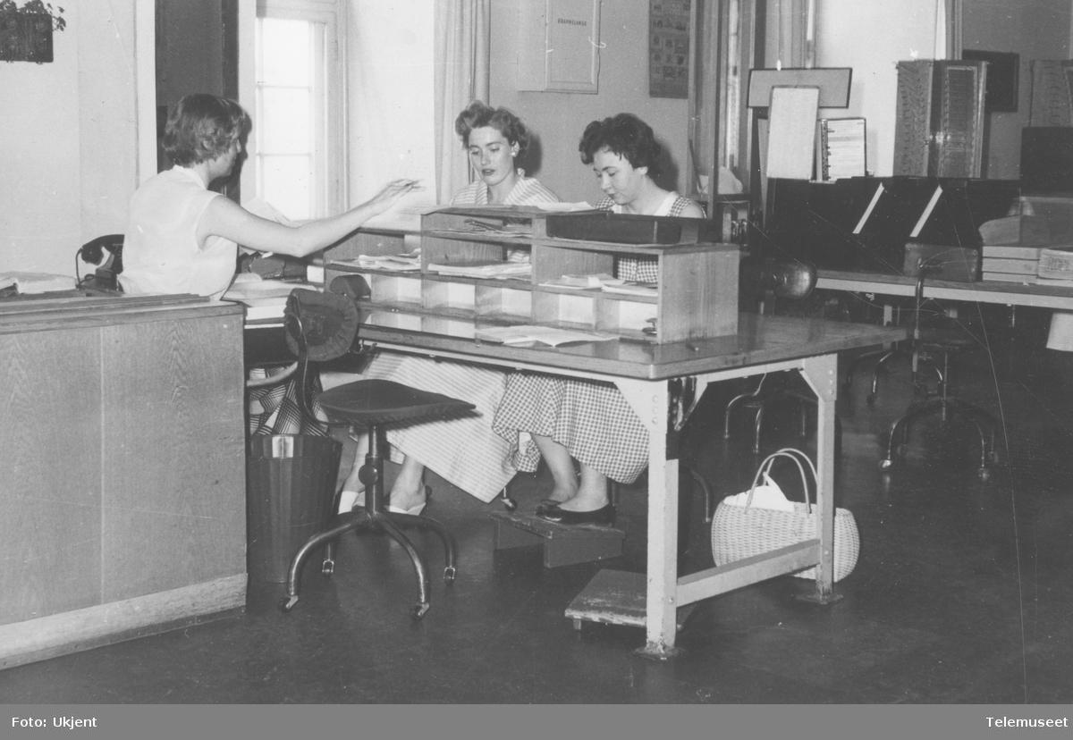 Oslo telegramtelefon 1958