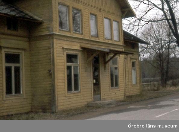 Svartå station. Stationshus.