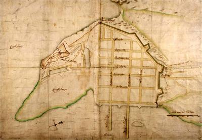 Et historisk kart over Christiania