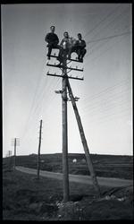 Håkon Line (1901 - 1967), Peder Netland (1892 - 1981) og Tor