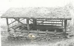 Billedserie av oppgangssaga ved Sunnmøre Museum. Denne saga