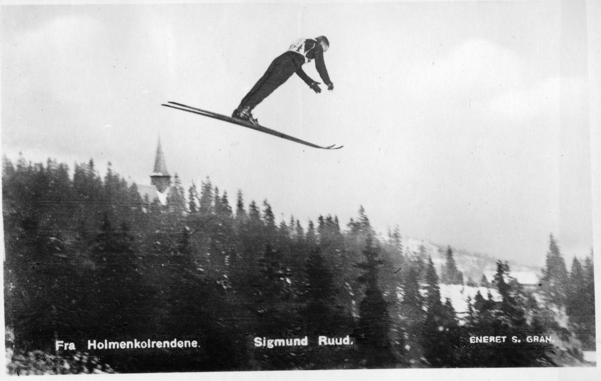 Kongsberg skier Sigmund Ruud at Holmenkollen in 1926