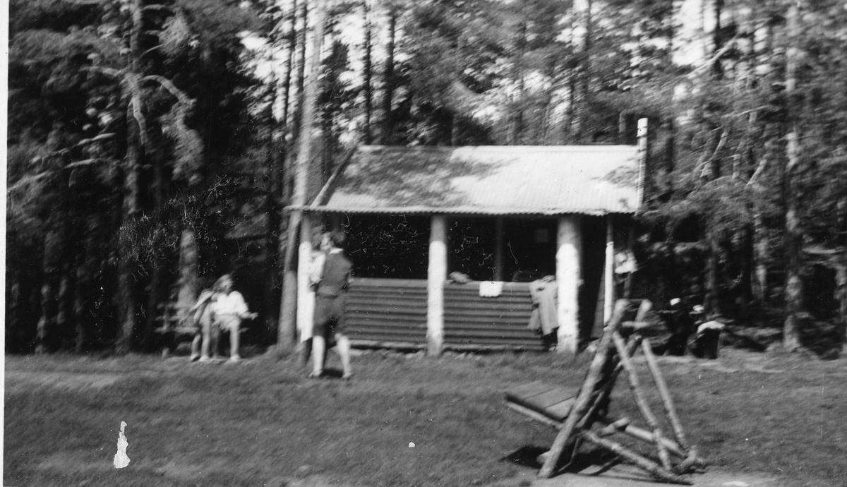 The Rudhytta cabin.