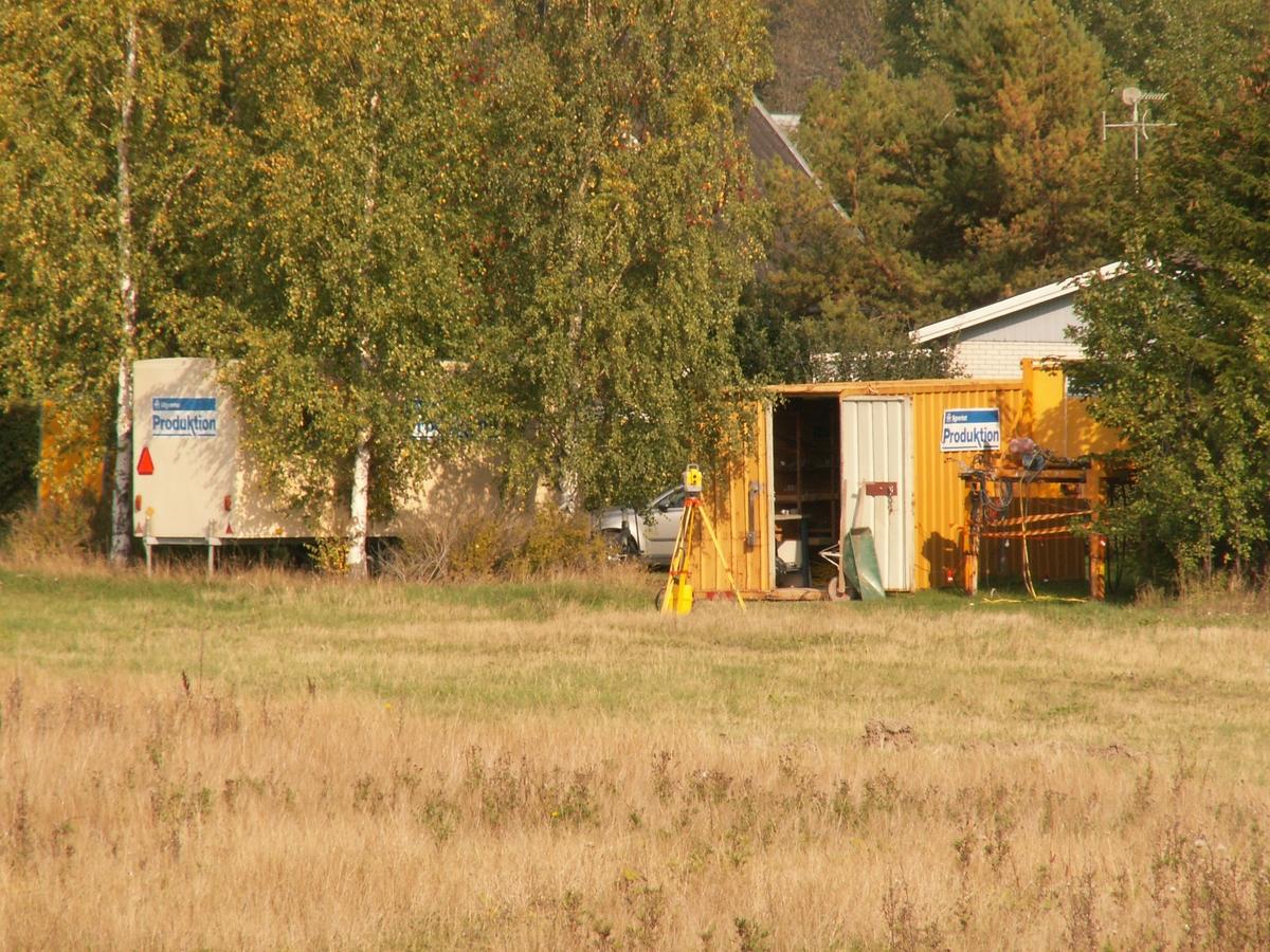 Arkeologisk slutundersökning, Raä 432, bodetableringen, Fansta, Bälinge socken, Uppland, 2006