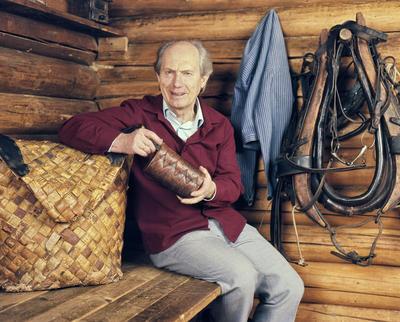 Direktør ved Norsk Skogbruksmuseum Tore Fossum. Foto/Photo
