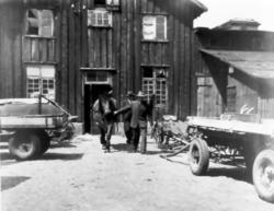 """""""Stallet på den gamla köpmansgården""""."""