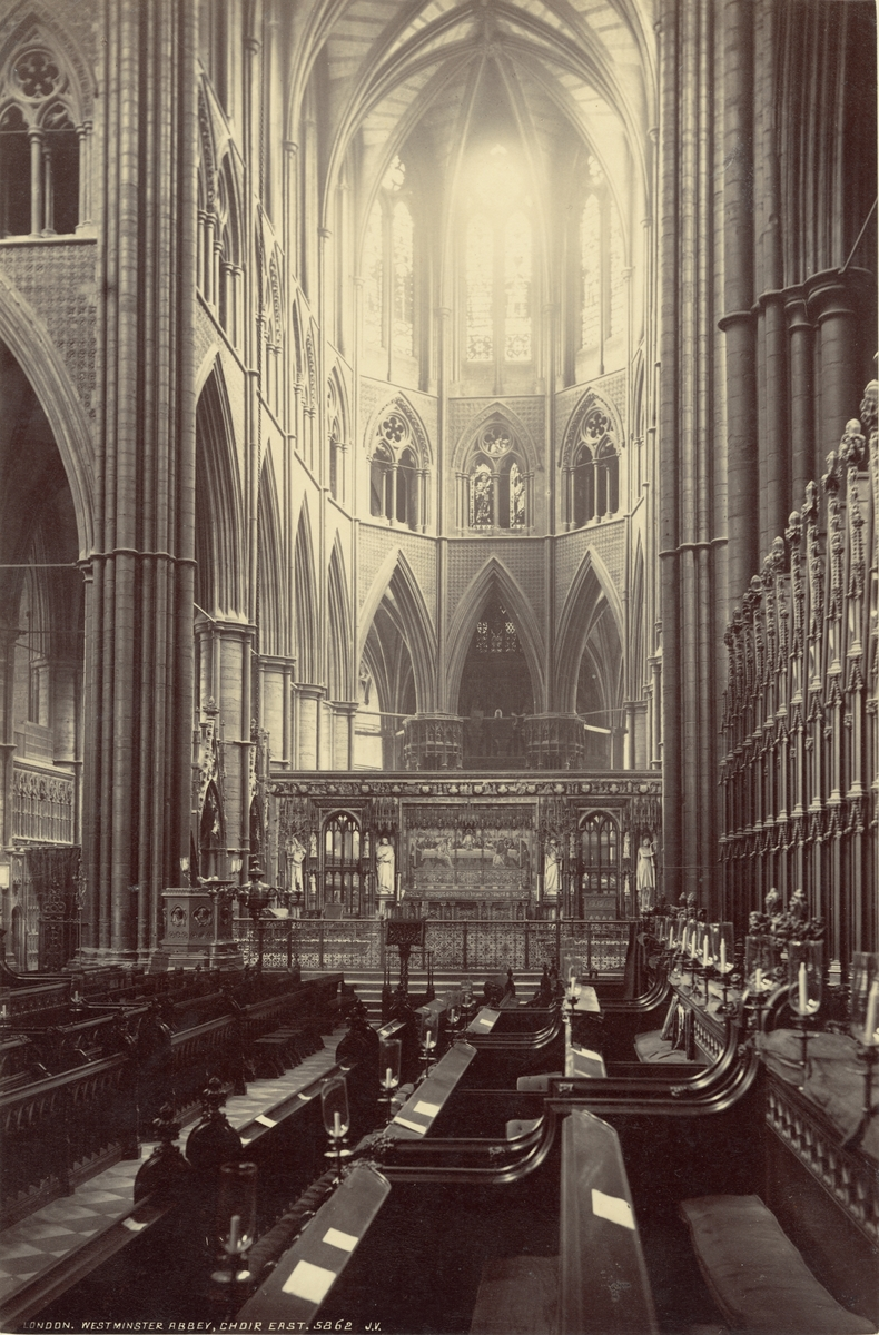 Westminster Abbey, London, 1886.