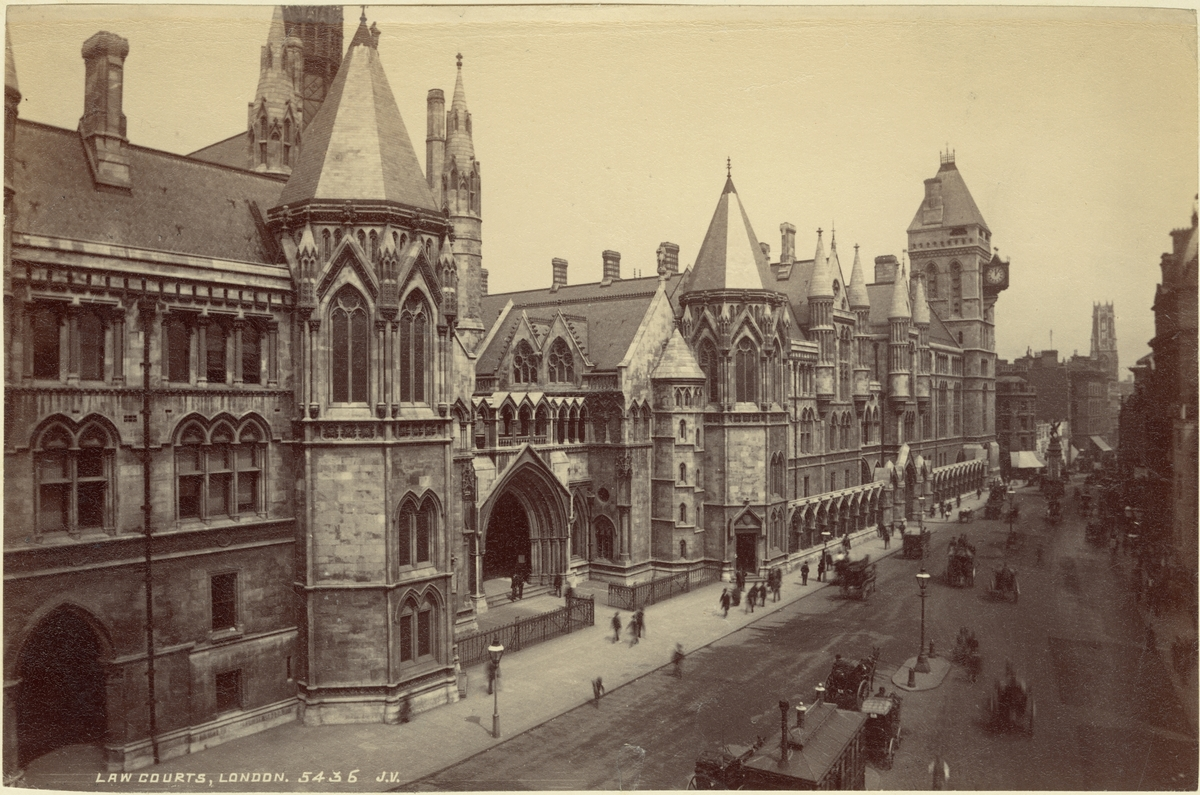 Law Court, London, 1886.