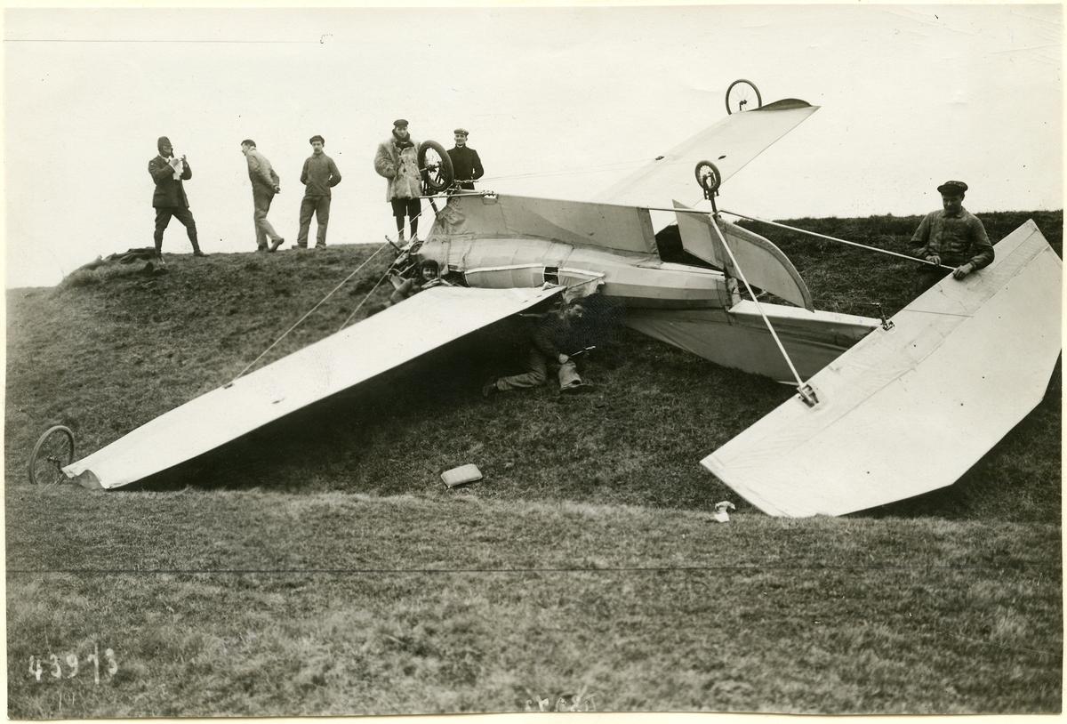 En kullerbytta med lycklig utgång, 1909.