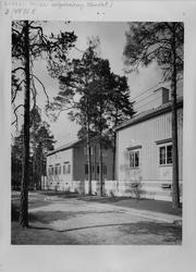 Bygg-och Bo-utställningen i Äppelviken. 2 st hus.