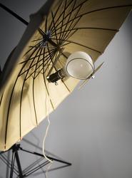 Reflektor till fotolampa, paraply