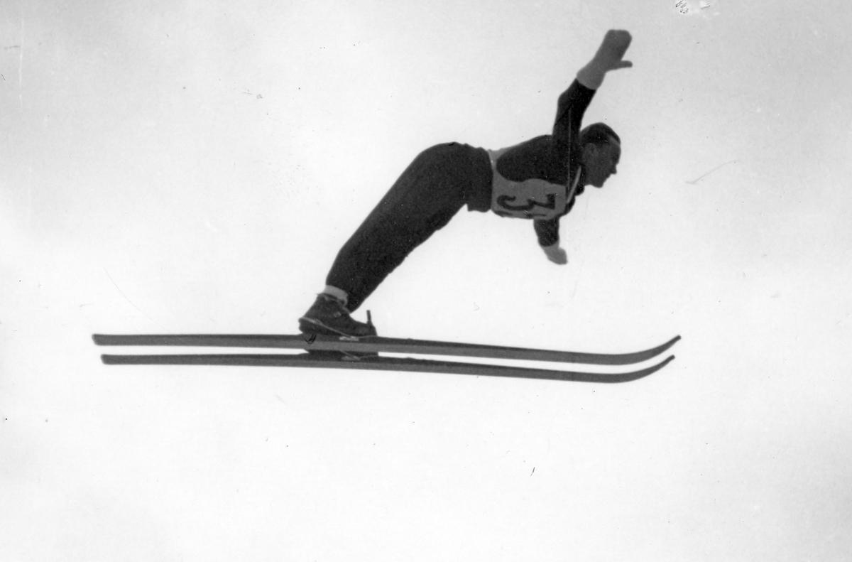 Kongsberg athlete Arnholdt Kongsgård in Garmisch-Partenkirchen 1936.