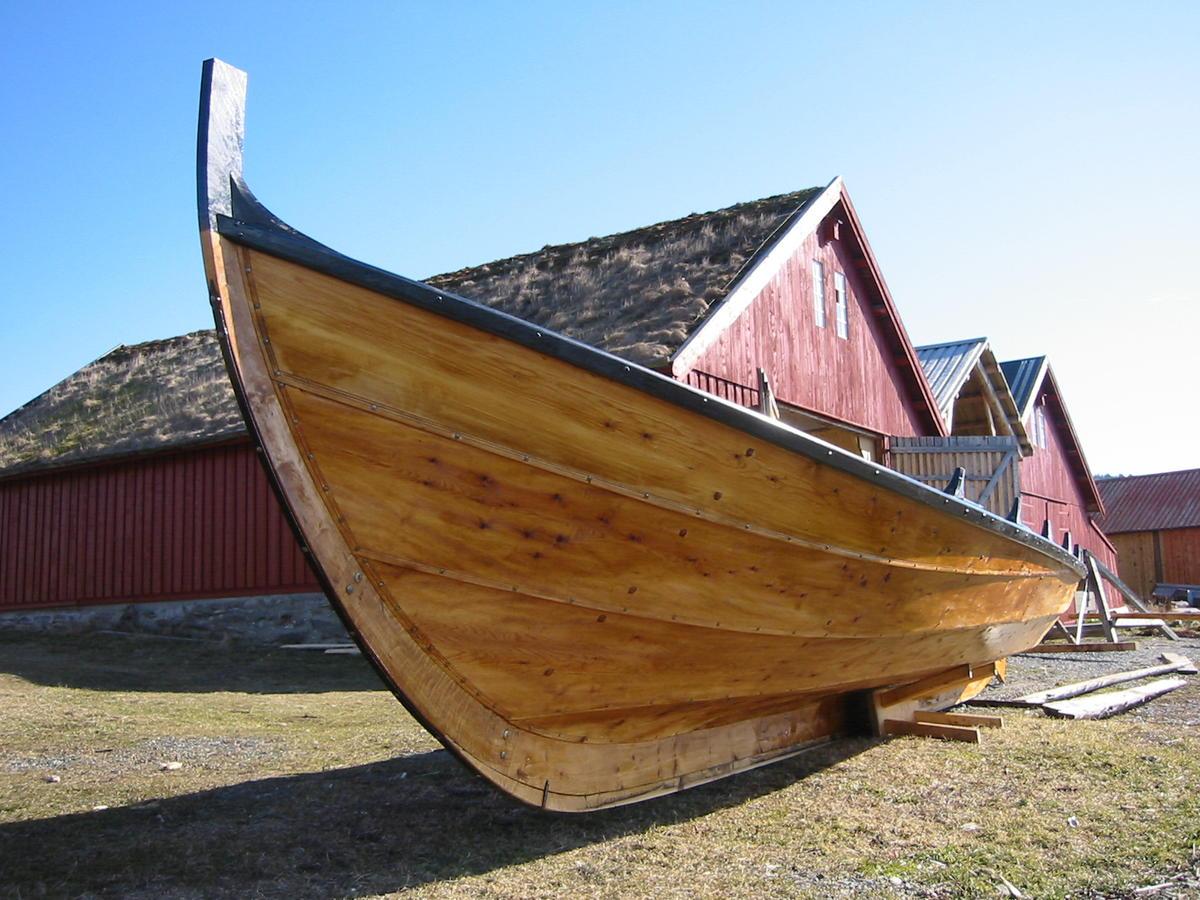 Nordmørsbåt (geitbåt). Traditional boat from Nordmøre.