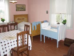 Stua i 30-talls leiligheta hvor du i dag kan se hvordan klevfosarbeideren og familien hans bodde. (Foto/Photo)
