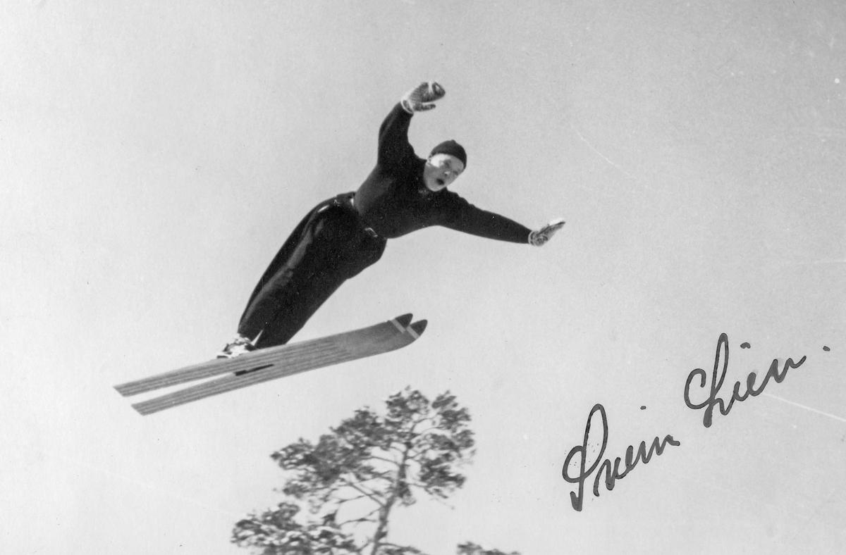 Kongsberg skier Svein Lien in action.