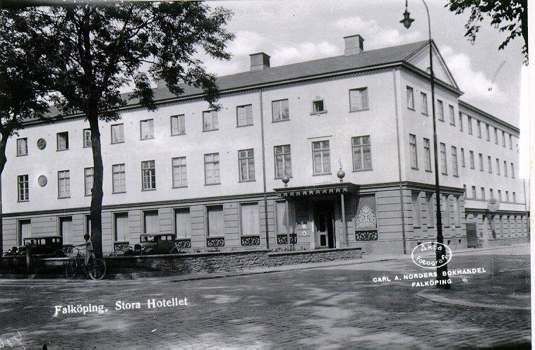 Stora Hotellet, S:t Olofsgatan.