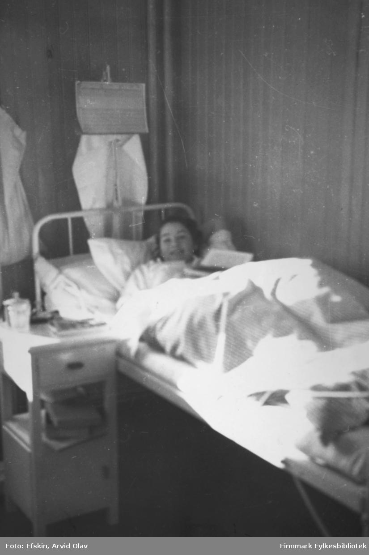 Petra Efskin på Vadsø Sykehus.