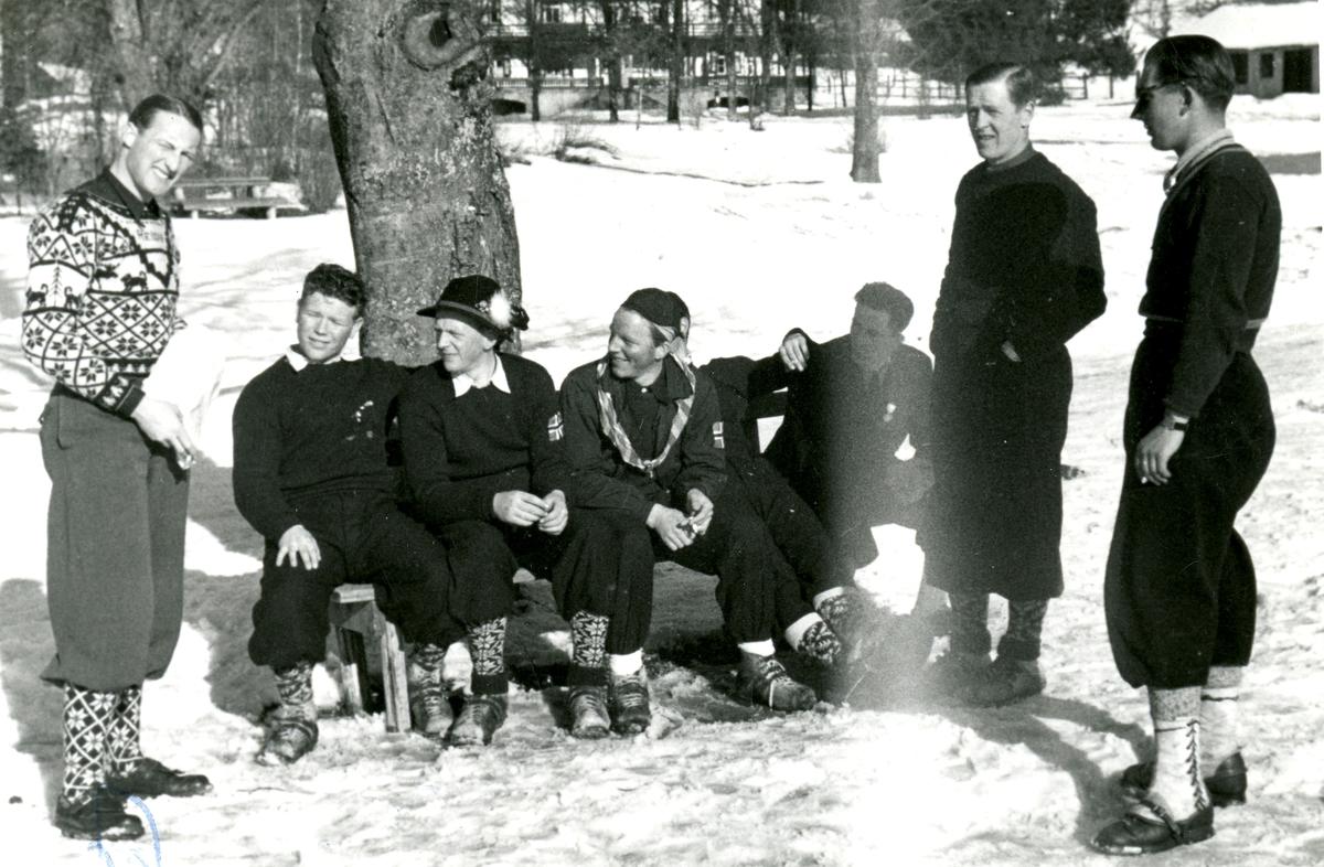 Kongsberg skiers in Germany