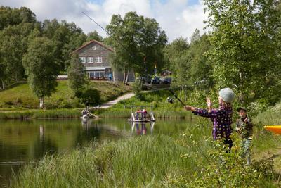 Doktortjønna fiske. Foto/Photo
