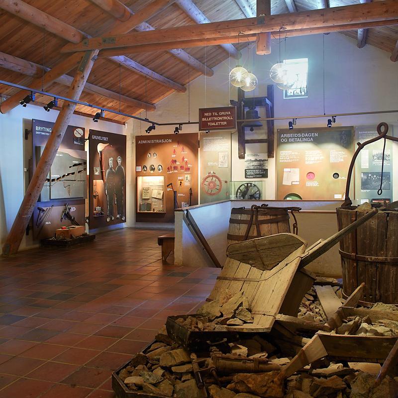 Museumsbygget Olavsgruva (Foto/Photo)