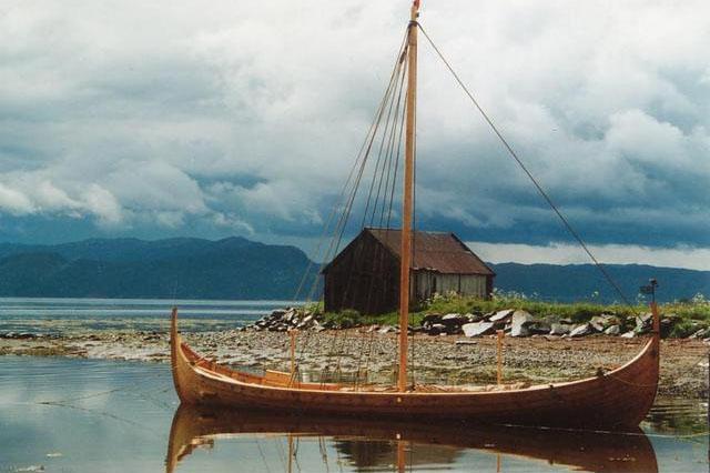 Visund, bygd i år 2000