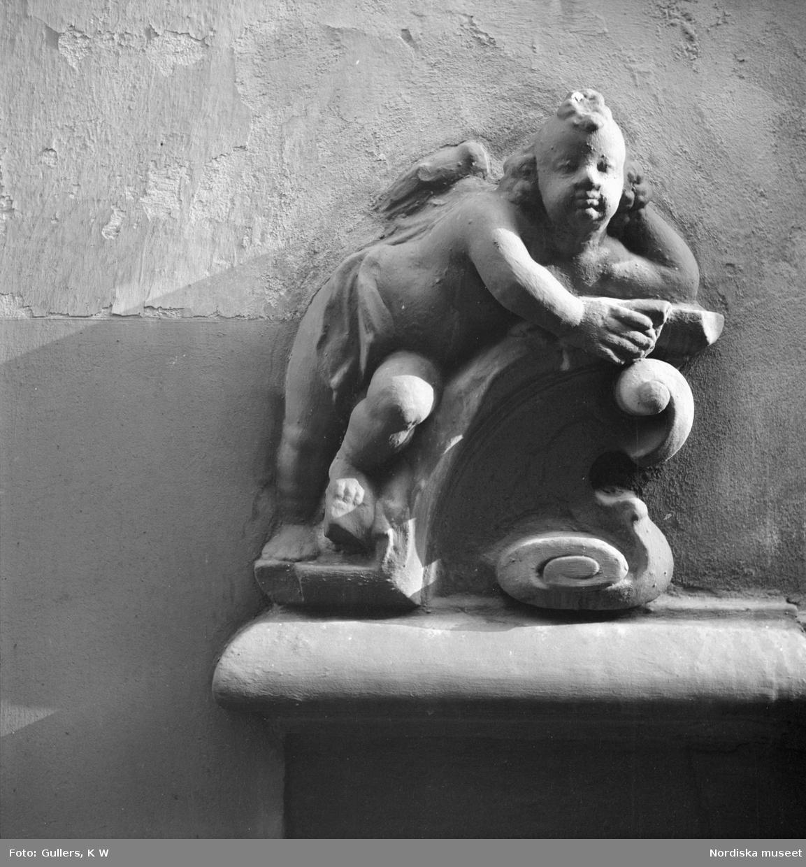 Skulptur. Kerub.