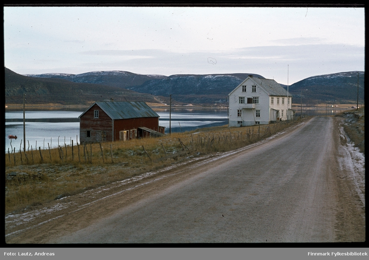 Austertana i 1975. Gamlehjemmet.