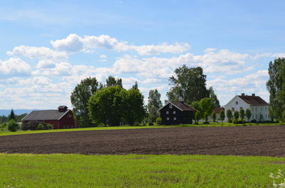 Englaug farm is the birthplace of painter Edvard Munch.