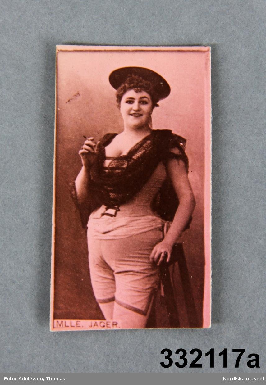 Skådespelerskor bland annat ur Actors and Actresses series, Duke Sons & Co.