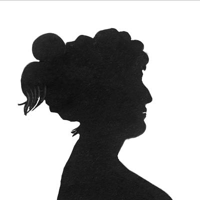 Silhuett kvinne. Foto/Photo