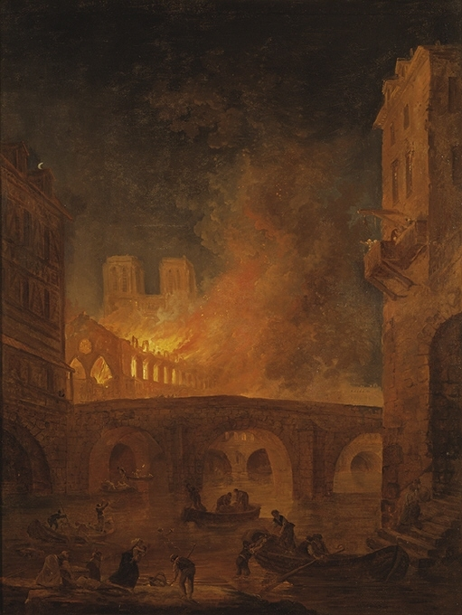 Eldsvådan i Hôtel-Dieu i Paris 1772