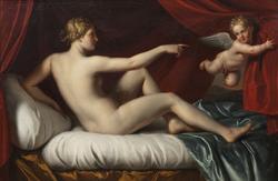 Venus med amorin